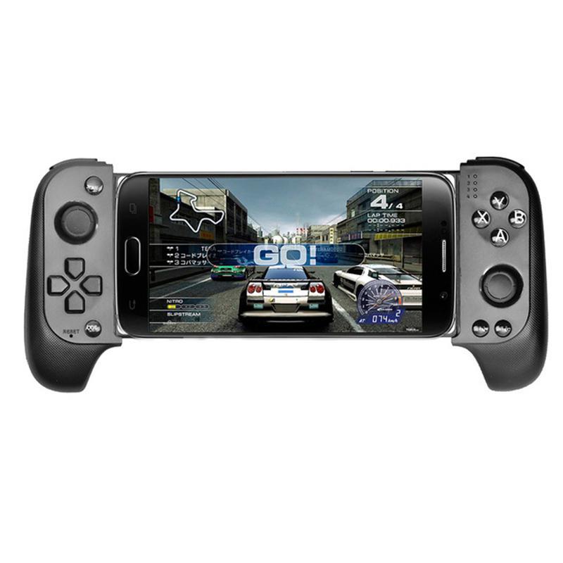 Беспроводной геймпад Saitake 7007F, Bluetooth игровой контроллер для Huawei, Xiaomi, Android, телефона, ТВ, iPhone, телескопические Джойстики, джойстик