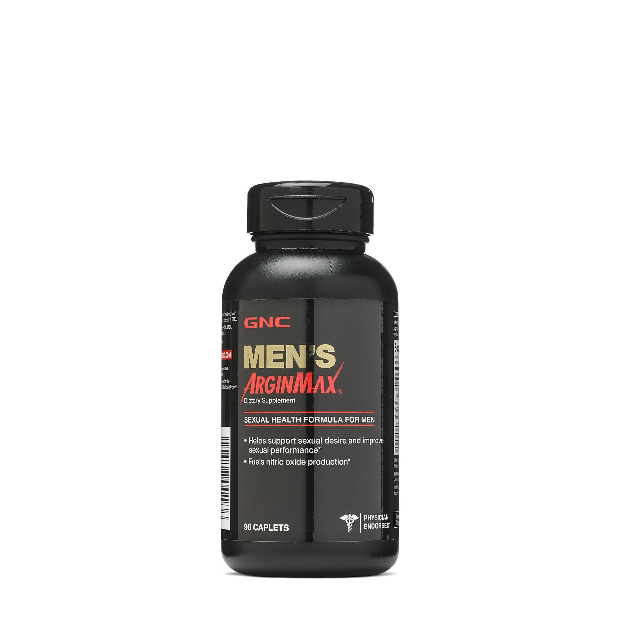 Men's ArginMax Sexual Health Formula for Men 90 Caplets L-Arginine Ginseng multivitamin