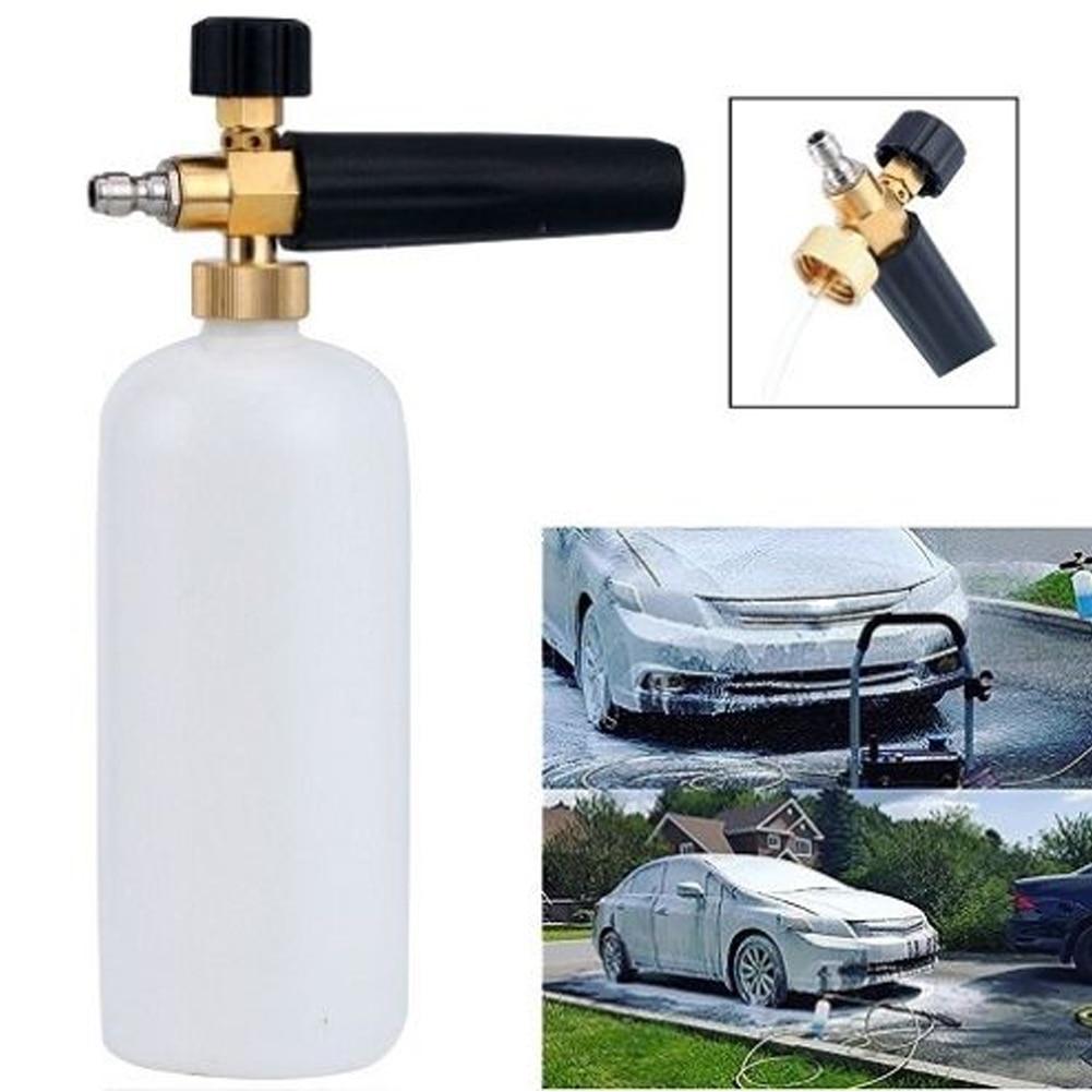 Adjustable Washer Water Gun Foam Gun High Pressure Snow Foamer Car Foam Sprayer Vehicle Soap Shampoo Portable Window Clean Lance