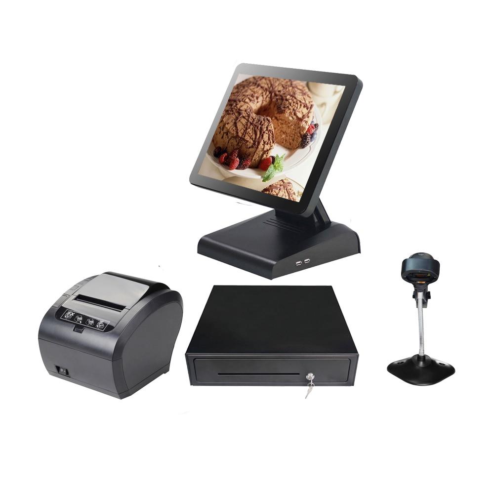 نظام POS ، الكل في واحد ، معدات المطاعم ، نظام POS ، كمبيوتر يعمل باللمس ، نقطة بيع