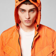 2021 Men's new spring and autumn casual hooded jacket windproof men's street Windbreaker