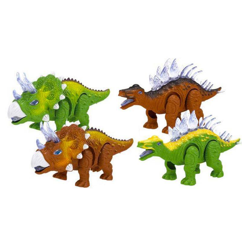 Dinosaurio sonoro y ligero para niños, juguete electrónico para niños, dinosaurio Roaring Dino, dinosaurio K1MA