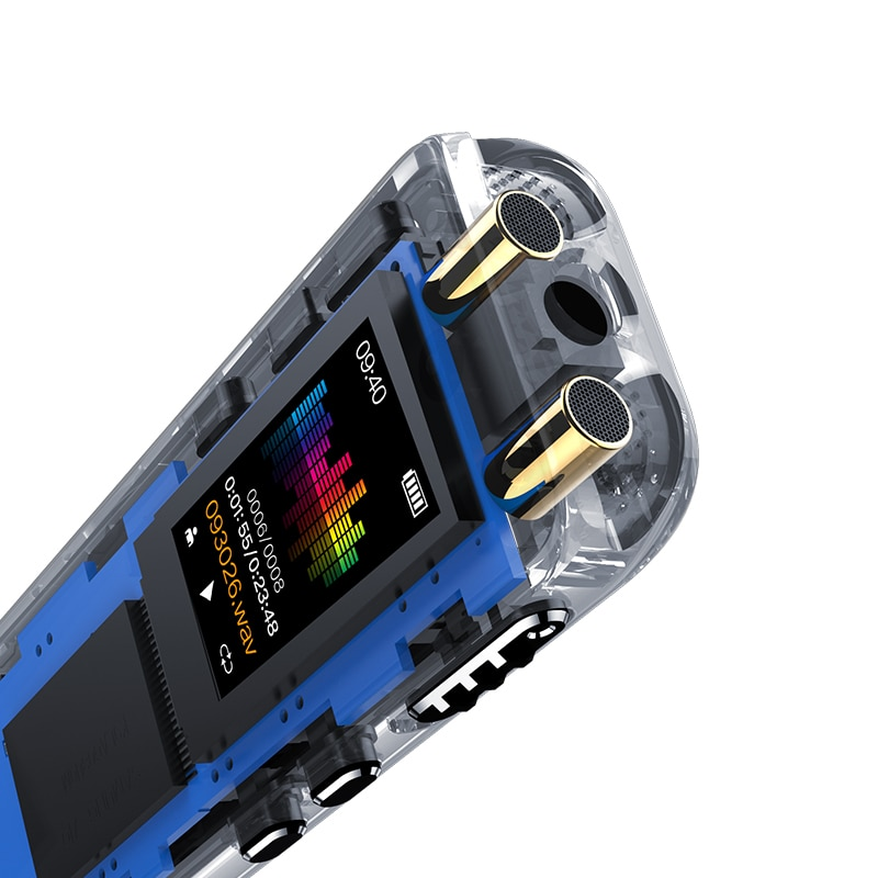 V39 Digital Voice Recorders Built-in Microphone MP3 Player Dictaphone Audio Interview Recorder Professional VOR VAR 8G 16G 32GB enlarge