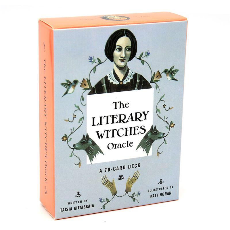 Cartas de The Literary Witches oráculo 70, cartas de Tarot, juego de mesa de fiesta familiar en inglés, de gran calidad y completamente nuevo