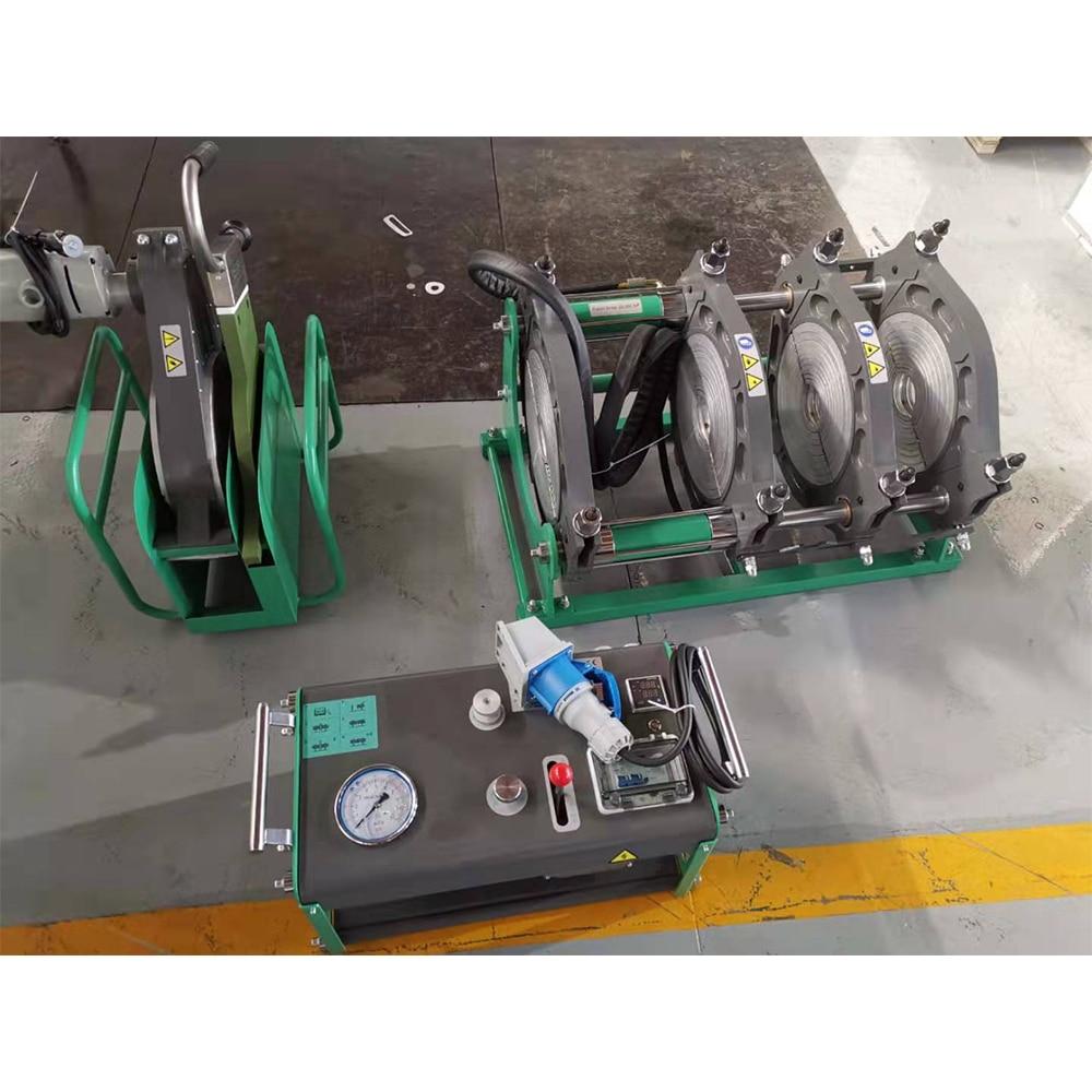 Máquina de soldadura SWT-V315/90 h da tubulação de gás da fusão do pe