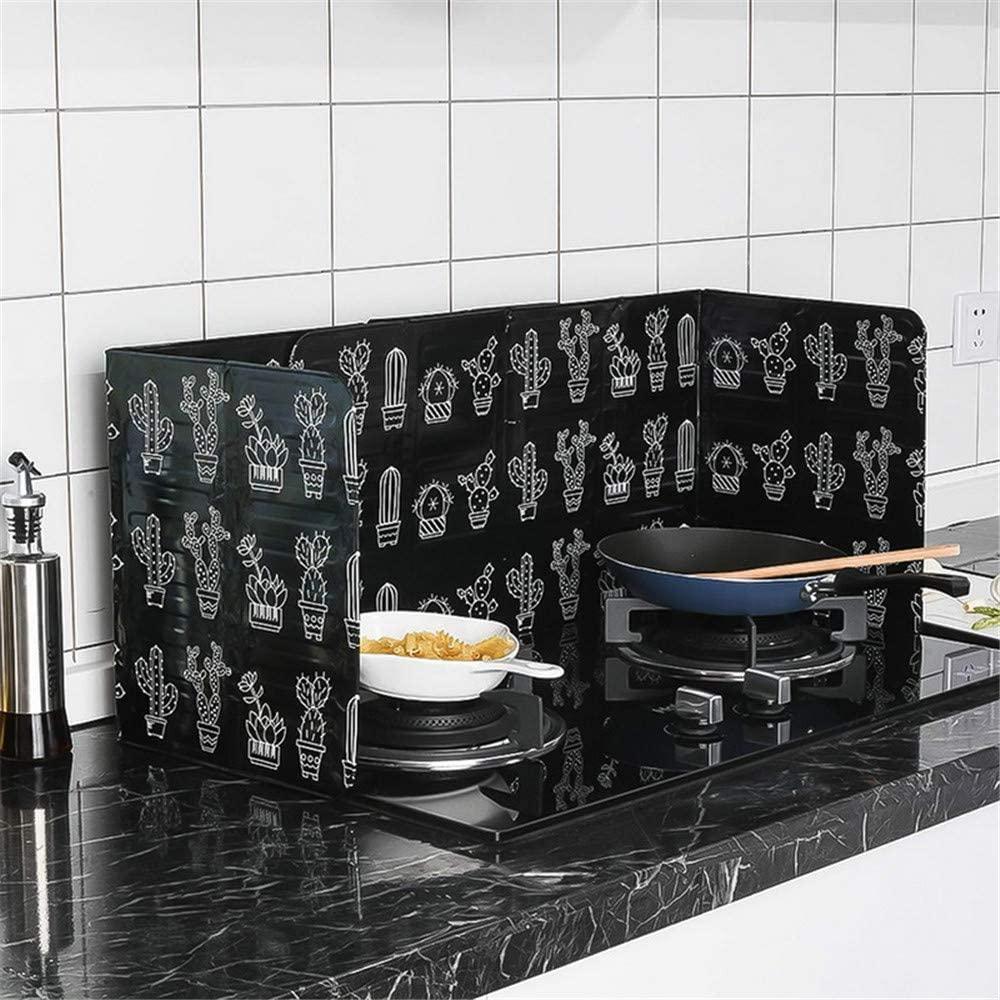 Anti Splatter Guard Oil Splash Foil Oil Block Oil Barrier Stove Cook Anti-Splashing Oil Baffle Heat Insulation Kitchen Utensils