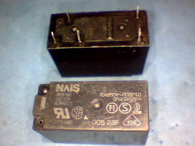 Relés JW1FSN-DC2V14F-1C-5P-12V