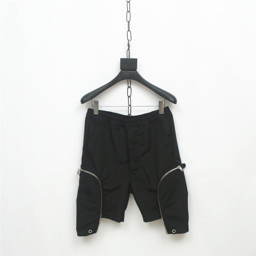 Sureme 2020 Sommer Neue RO Minimalismus Shorts Männer Frauen 100% Baumwolle HipHop Streetwear Casual Dunkelheit Bomber Taschen Shorts Männer