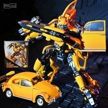 블랙 맘바 변환 로봇 LS07 LS-07 영화 꿀벌 합금 KO MPM07 MPM-07 비틀 자동차 필름 항해 액션 피겨 모델 완구