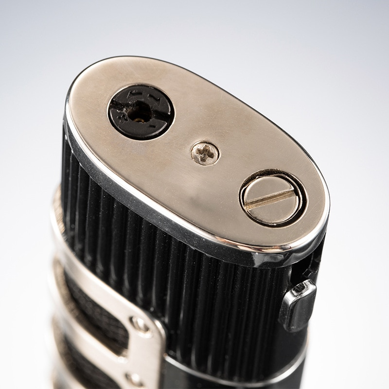 Unusual Metal Triple Torch Lighter Jet Turbo Butane Gas Lighter Windproof Cigar Smoking Accessory Lighter Men's Gift Gadget enlarge