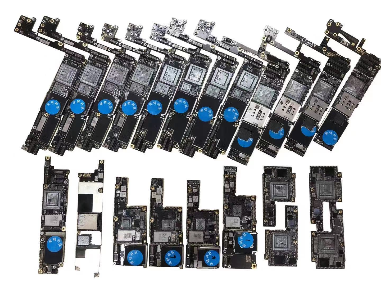 CNC Motherboard For iphone X XS XR XSMAX ID CNC Logicboard Use For Swap Keep Phone Data ID Motherboard Baseband Big CPU
