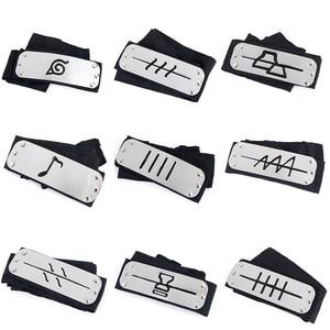 Cosplay Accessories Rebellious headband Guard Anime Cosplay Decoration Props Uchiha Ninja Warrior Belt Flapper Headwear