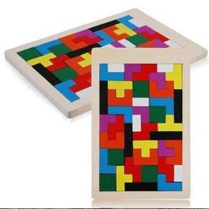 Hot Tangram Brain Teaser Puzzle Toys Educational Tetris Game Kid Jigsaw Board Toy Gifts Children Wooden Puzzles Toy