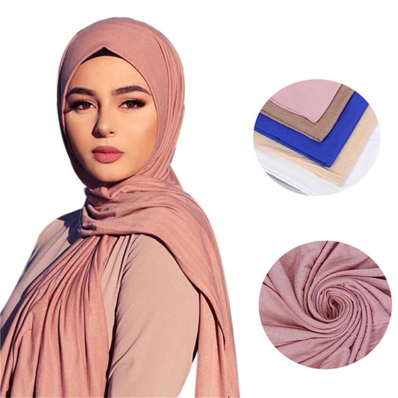 Otoño chal pañuelo para mujer 2020 nuevo Color sólido chales largos y...