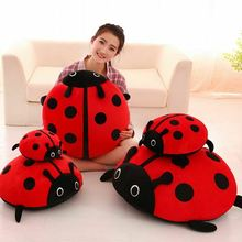 Beetle Plush Toy Ladybug Doll Creative Stuffed Animal Car Pillow Cushion Gift Kawaii Plush Stitch