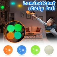 Стик настенный мяч, игрушки для снятия стресса, липкий Сквош-мяч, шарики, игрушка для декомпрессии, липкая мишень, мяч для захвата, броска мяч...