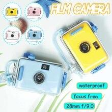 Caméra pour enfants sous-marine étanche et antichoc Film caméra Mini mignon enfant LOMO caméra 35mm Film avec boîtier