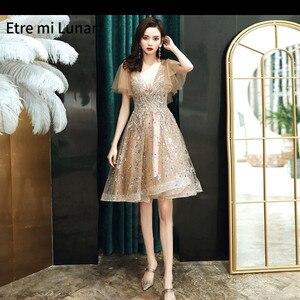 Dubai Evening Dress 2021 Sexy Champagne One Shoulder Diamonds Handmade Flowers Pearls Formal Dresses Evening Gown LD04351