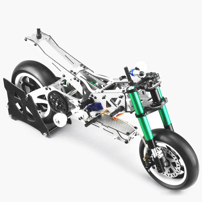 1/5 FIJON FJ913 الكربون الألياف سباق دراجة نارية إطار FIJON 1/8 FJ913 البسيطة الفضة الكربون الألياف سباق دراجة نارية عدة