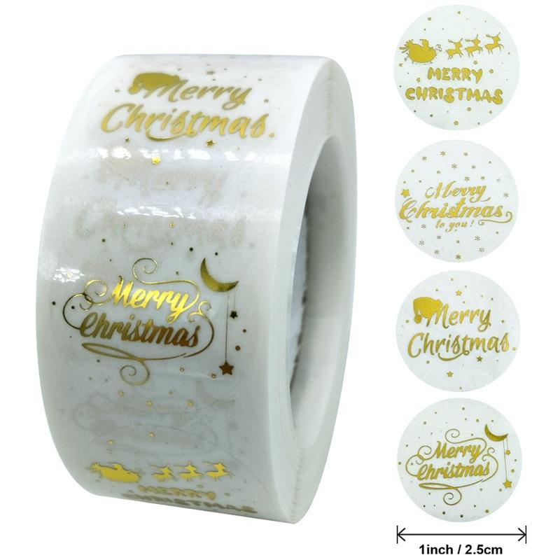 100-500-pz-vari-stili-buon-natale-grazie-adesivi-sigillo-etichette-per-buste-carte-confezione-regalo-scrapbooking-1-pollice