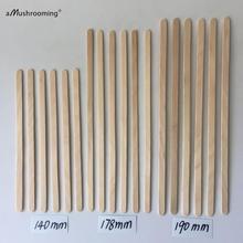 Agitadores de madera desechables para café, utensilios biodegradables para bebidas calientes y frías, para bar, cafetería o uso doméstico, 100 unidades