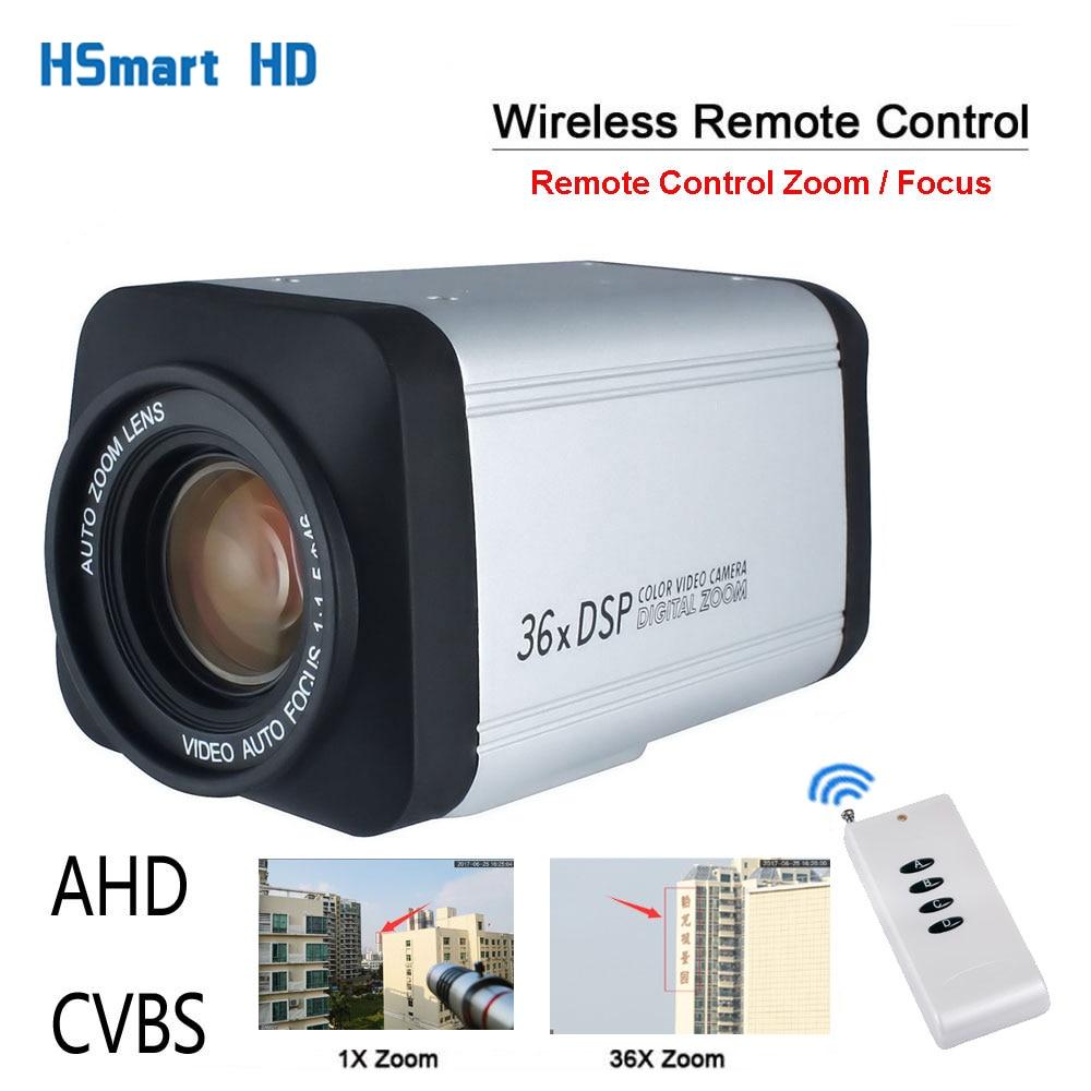 وحدة تحكم عن بعد لاسلكية 36X زووم بصري HD AHD 1080P التركيز التلقائي CCTV صندوق كاميرا ل AHD DVR