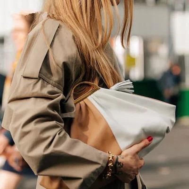 Design Dumplings Women Handbags 2020 New Fashion Folds Shoulder Crossbody Bag Hanlde Women Clouds Bags Ladies Pleated Hand Bags
