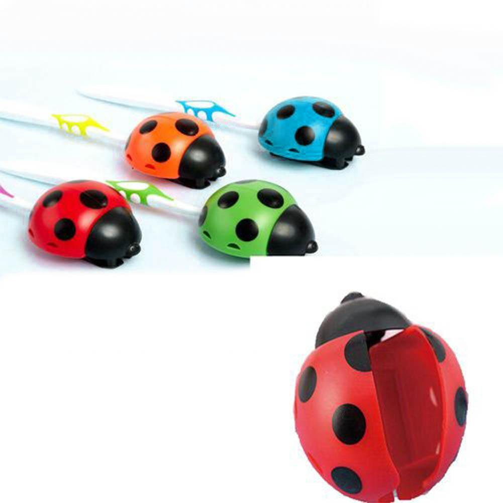Lovely Ladybug Home Bathroom Suction Cup Wall Mounted Toothbrush Holder Rack  Toothbrush Holder Rack