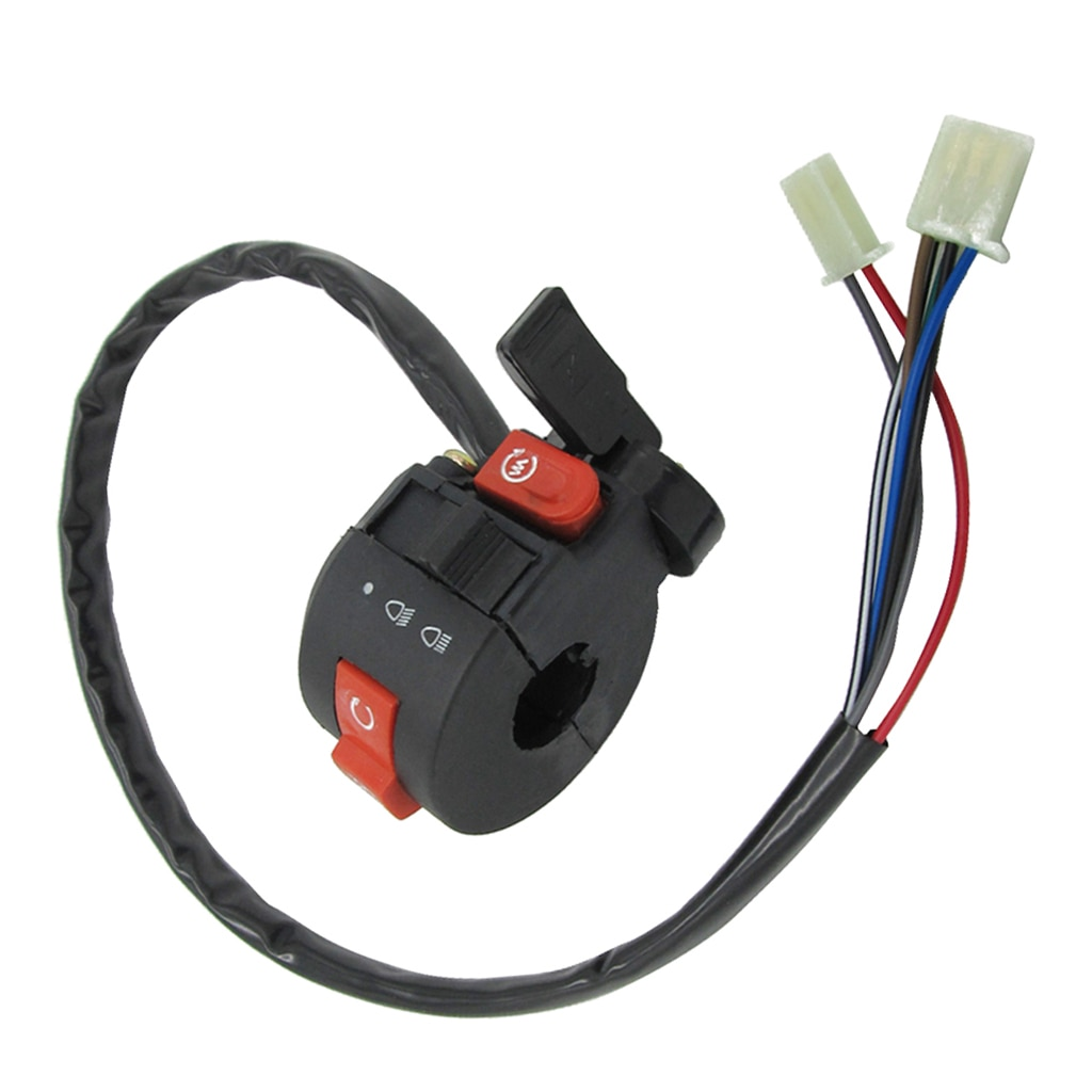 3 Function 7 Wires Left Switch for 50/70/90/110/125cc ATV Quad 4 Wheeler TaoTao SunL