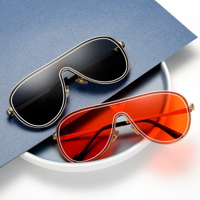 2020 mulheres da moda e Homens Esfriar Estilo Quadrado Gradiente Óculos de Sol Óculos de Condução Do Vintage Design Da Marca Barato Óculos de Sol Oculos de sol