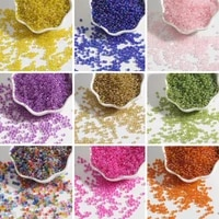 2mm small glass beads multi color small beads for jewelry making bracelets necklaces handmade diy accessories 1000pcs