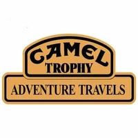 hot camel trophy car sticker decal vinyl rearview mirror decor rear windshield stickers waterproof car warp decorative car decal