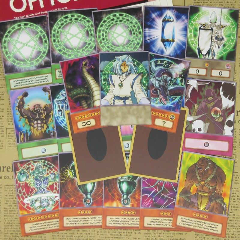 ¡20 piezas de Yu-Gi-Oh! Serie orichalos tarjetas griegas Atlantis antiguo símbolo Dartz Cosplay artículo Yugioh Anime Tarjeta de diseño especial Orica