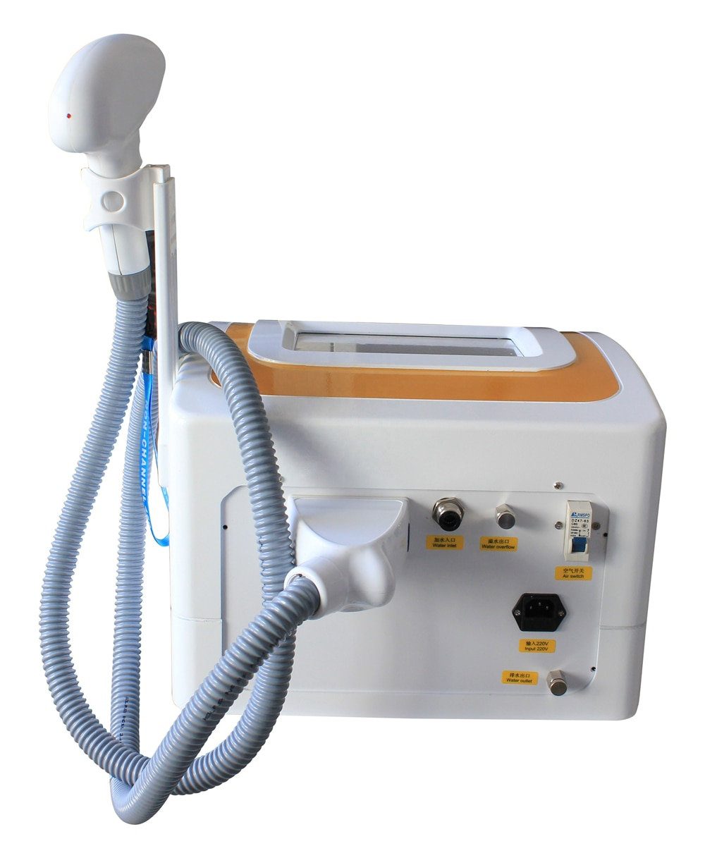 Купить с кэшбэком 2021 Newest Real 600W hair removal laser 755nm/808nm/1064nm three wavelenth 808nm diode laser hair removal machine With CE