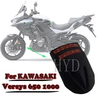 motorcycle front extender mudguard rear fender accessorie for kawasaki versys 1000 2012 2021 kle650 versys 650 2010 2021 kle 65