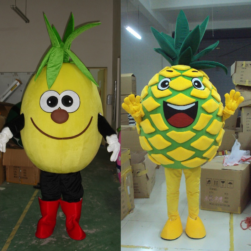 Fruit Pineapple Eagle Mascot Costume And Adult Bird Mascot Adult Mascot Costume Cartoon Mascot Costumes Lol Doll Party