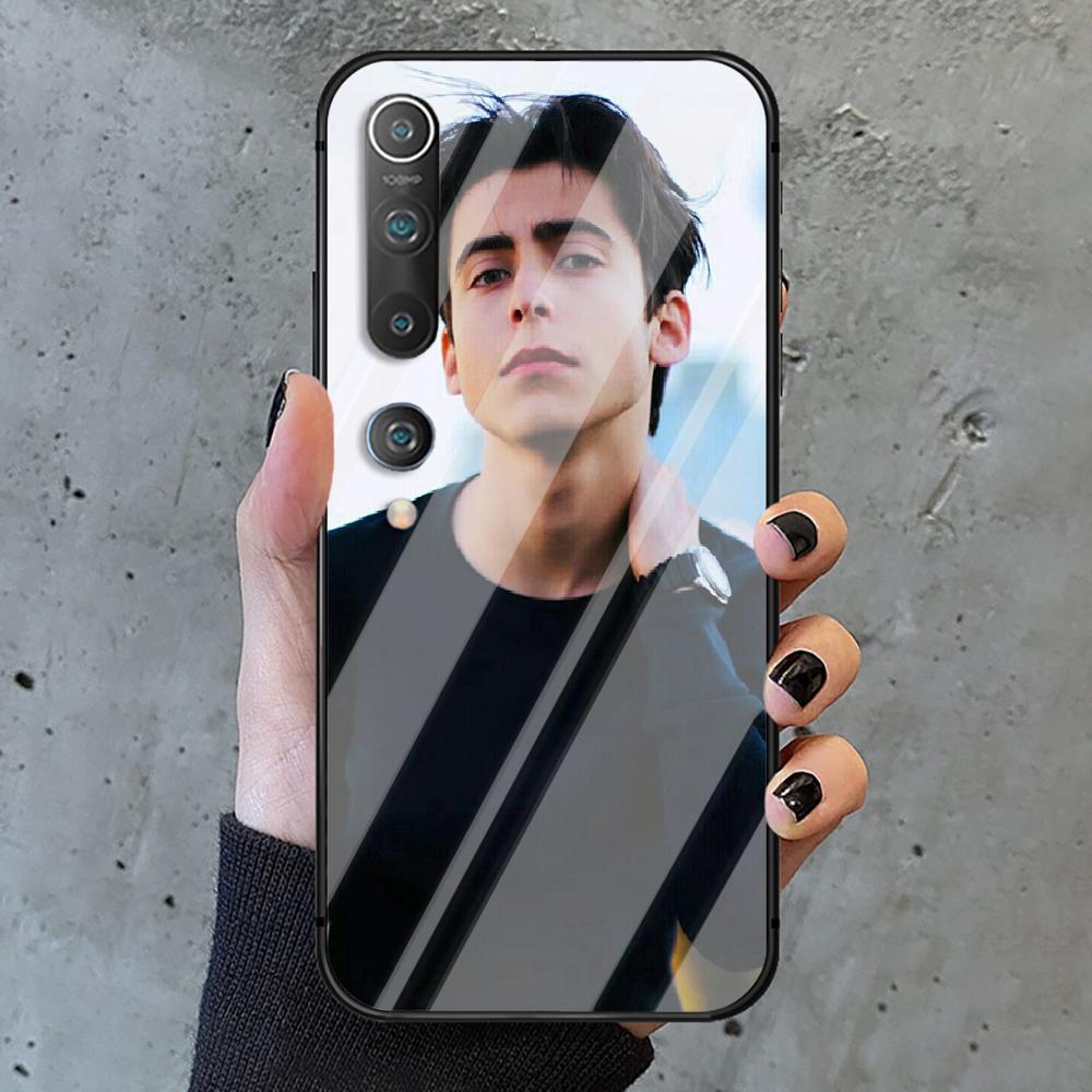 Aidan Gallagher Umbrella Academy Phone Tempered Glass Case Cover for Xiaomi Mi A MAX X POCO M Note 3 9 10 11 i T Pro Lite Prime  - buy with discount