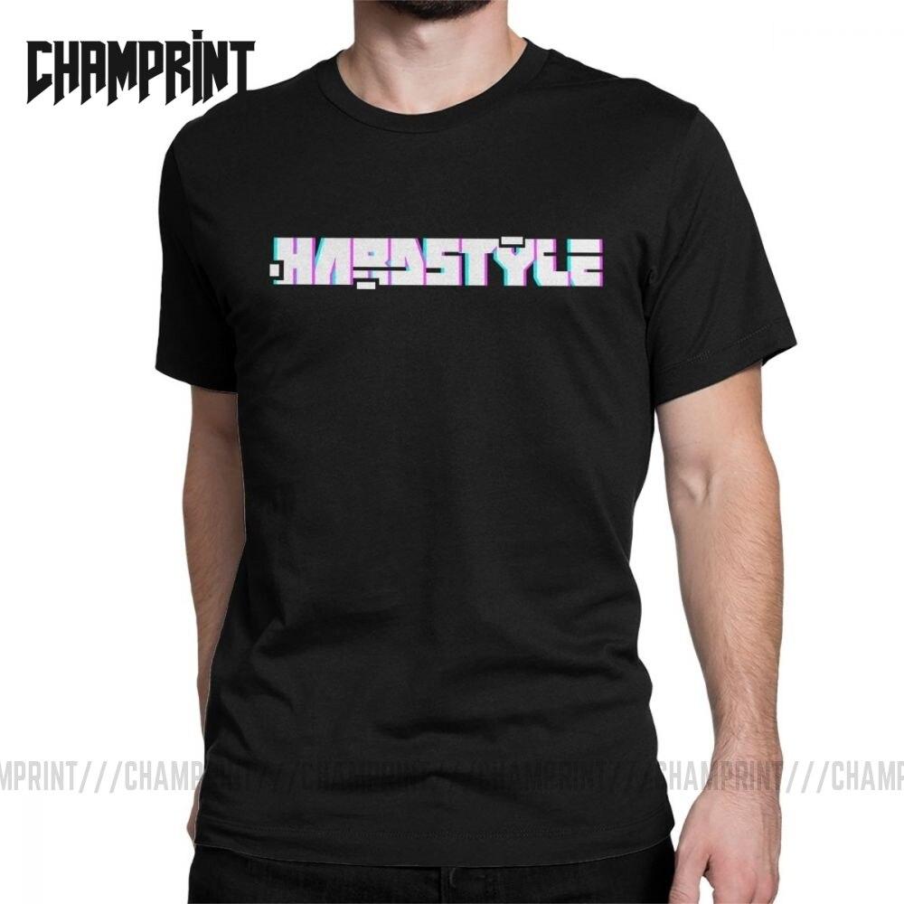 Camiseta masculina hardstyle música eletrônica edm raver vintage algodão t manga curta defqon hardcore dança dj techno t camisas