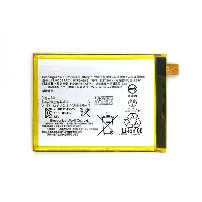 Wisecoco Batería Lis1605erpc De 3430mah Para Sony Xperia Z5 Premium Z5p Dual E6853 E6883 Entrega Rápida última Producción Baterías Para Teléfonos Móviles Aliexpress