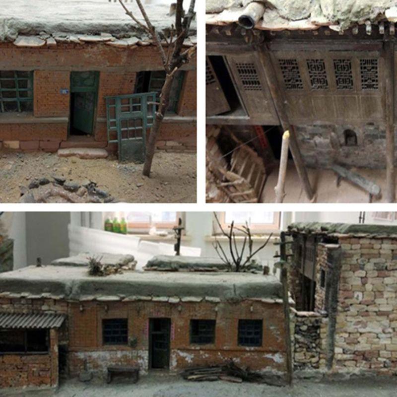 100/80/70 Pc 1/16 1/35 Miniature Brick Tiles Model DIY Sand Table Manual Wall P31B