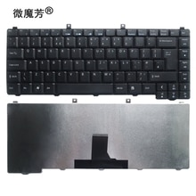 Черная клавиатура для ноутбука Acer AS3000 AS1400 1650 AS1650 1600 5560 5572 3620 3630 2600 3686 5583 5540 5550