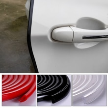 Auto For Door Edge Protector Rubber Exterior Parts Car Decoration Stickers Samochodowe Gadgets Acces