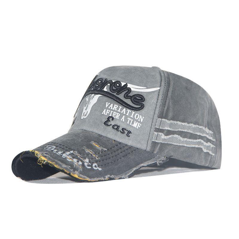 Fashion High Quality Men Washed Cotton Baseball Cap Women Vintage Snapback Hat Adjustable Trucker Dad Bone Visors
