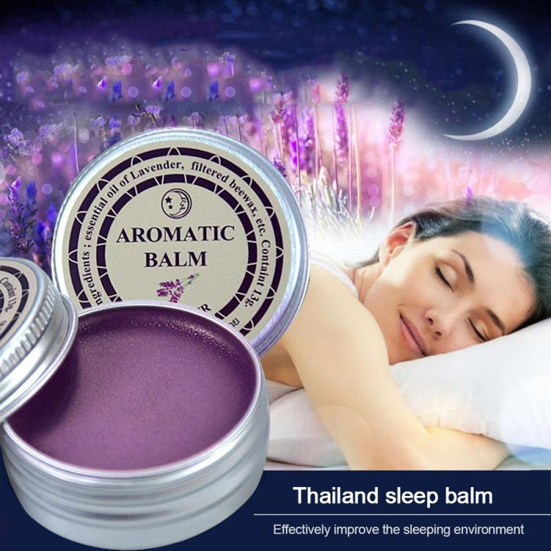1 Pc Lavender Aromatic Balm Help Sleep Soothing Cream Insomnia Treatment Relieve Anxiety Essential Oil Cream Dropshipping TSLM1