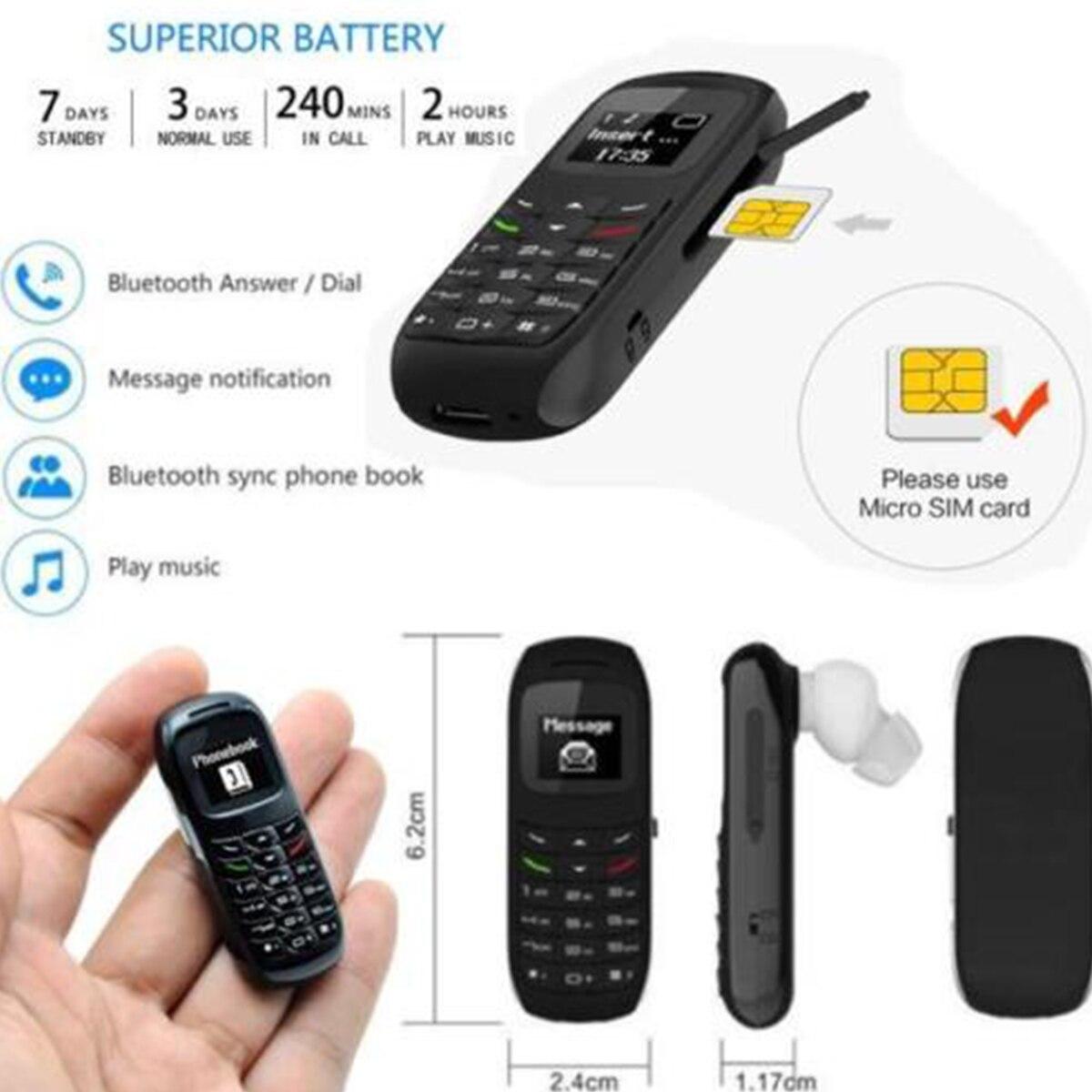 2 piezas auricular Bluetooth BM70 del teléfono móvil de la forma de los auriculares inalámbricos SIM tarjeta Mini auricular estéreo apoyo en el de teléfono