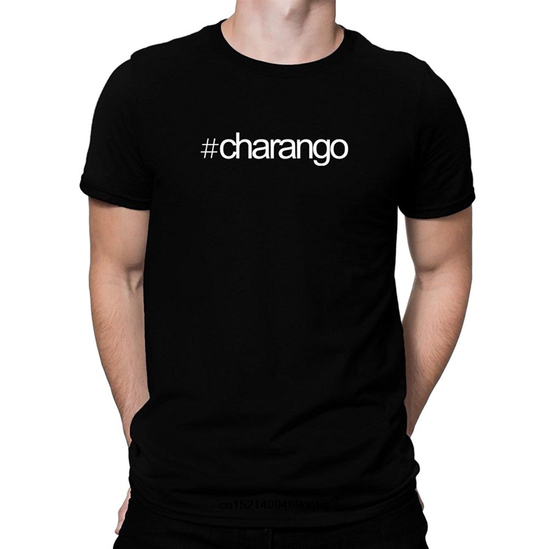 Camisa de impressão de alta qualidade hashtag charango camisa de t