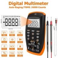 holdpeak 42b digital multimeter 6000 counts true rms multimetro transistor ncv diode testers auto ranging acdc voltage meter