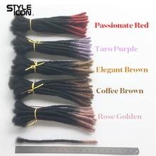 Styleicon New Afro Kinky Bulk 100% Human Hair For Dreadlocks Twist Braids Human Hair Extensions Remy Hair Five Colors