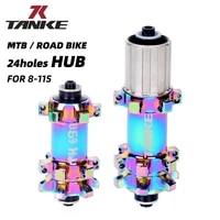 tanke mtb bike hub quick release 24 holes sealed bearing hubs 100 135 bicycle front rear hubs