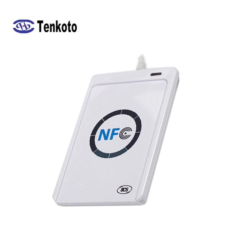 RFID считыватель смарт-карт Бесконтактный Писатель Копир Дубликатор записываемый клон SDK USB S50 13,56 МГц M1 кардридер NFC ACR122U